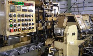プーリーシャフト製造ライン